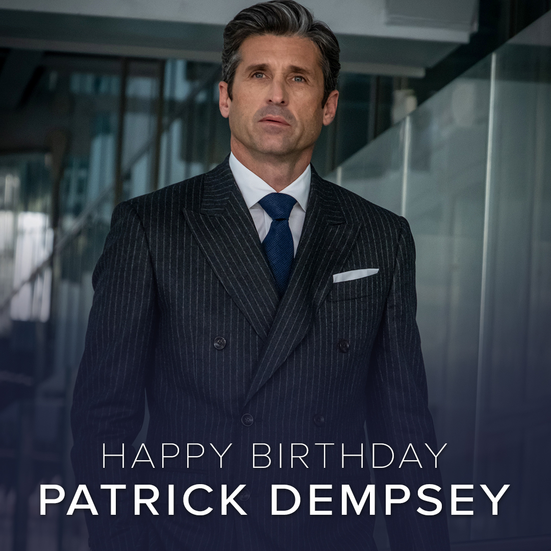 All about the money. Happy Birthday, Patrick Dempsey!