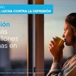 Image for the Tweet beginning: 👉 #DíaMundialLuchaContraDepresión  🌍La #depresión es frecuente