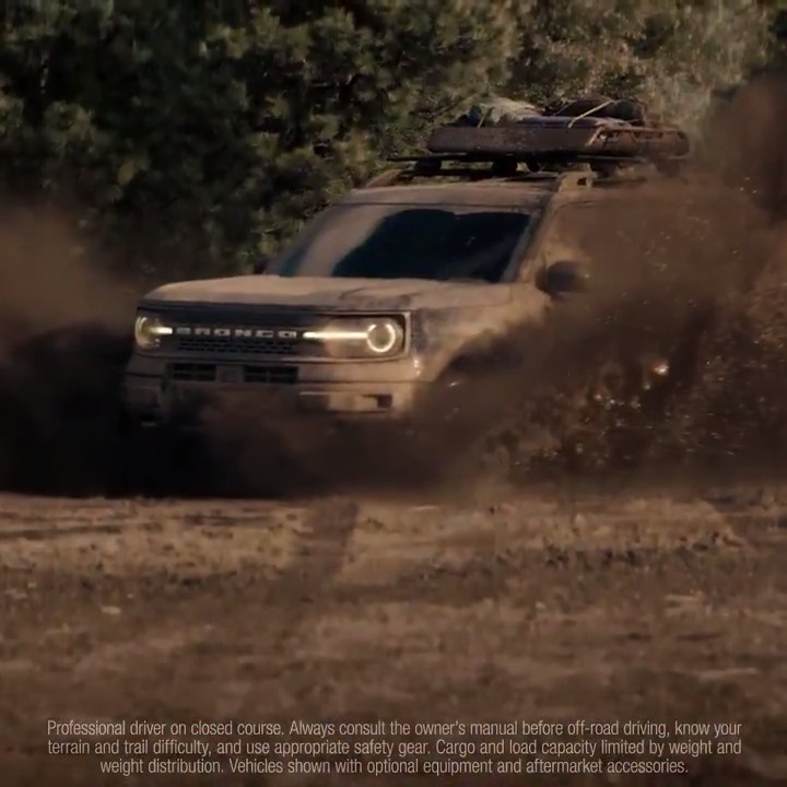 Find your calling and go there. In the all-new #FordBronco Sport.
