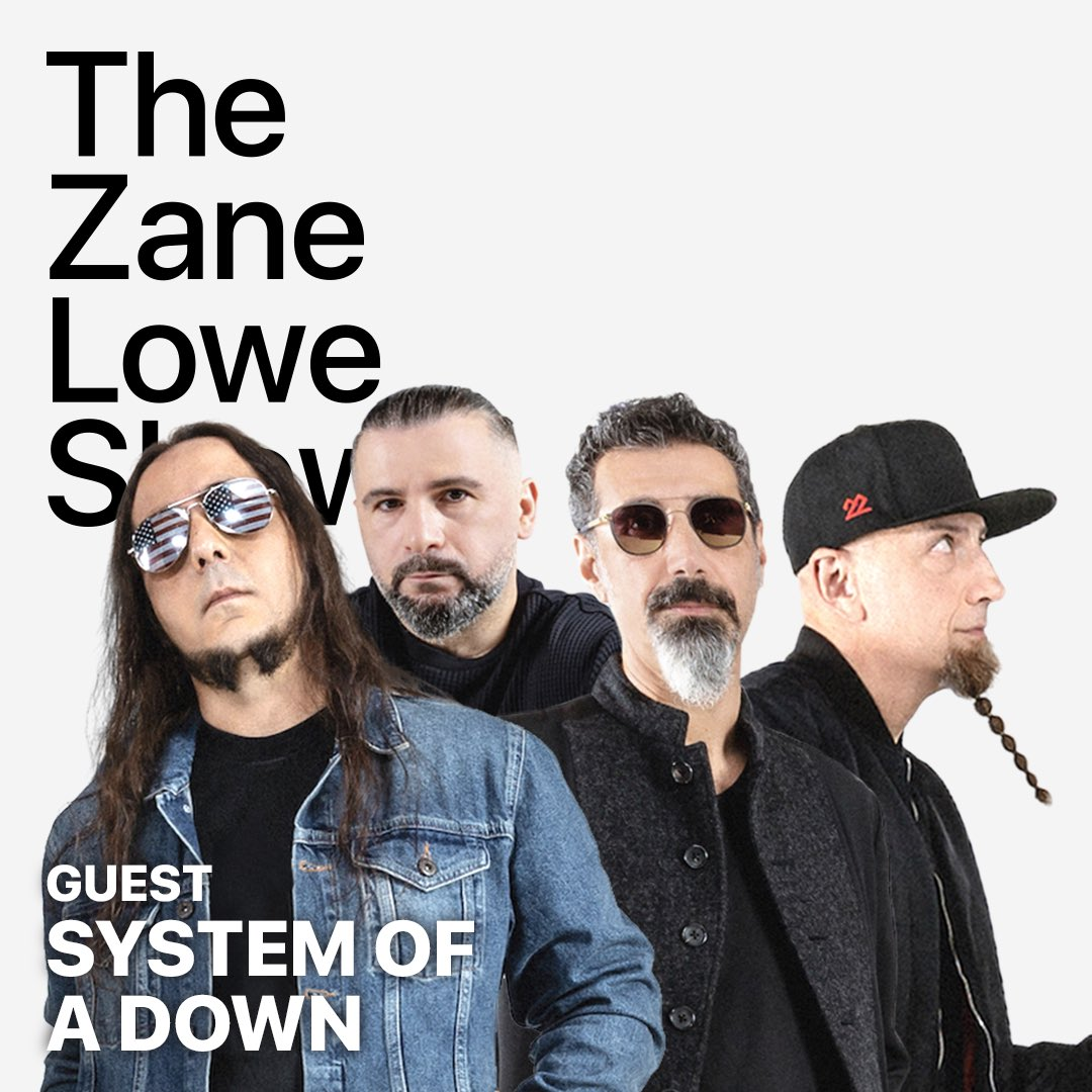 We've got a chat with @systemofadown coming up in 1 hour. Tap in  @AppleMusic