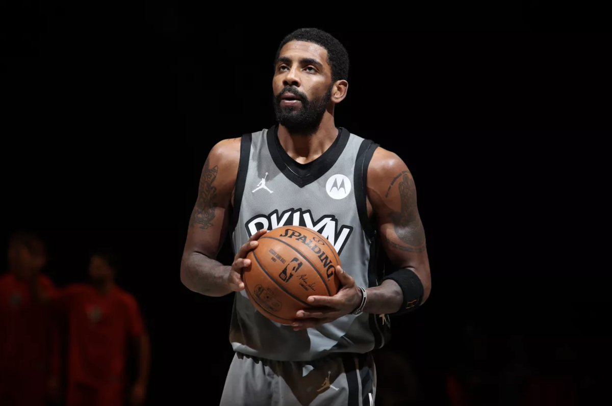 Kyrie Irving's Nets Career 27 games played (☑) 53 missed( ✘)   ☑☑☑☑☑☑☑☑☑☑☑✘ ✘ ✘ ✘ ✘ ✘ ✘ ✘ ✘ ✘ ✘ ✘ ✘ ✘ ✘ ✘ ✘ ✘ ✘ ✘ ✘ ✘ ✘ ✘ ✘ ✘ ☑☑☑☑✘ ☑☑✘ ☑☑☑✘ ✘ ✘ ✘ ✘ ✘ ✘ ✘ ✘ ✘ ✘ ✘ ✘ ✘ ✘ ✘ ✘ ✘ ✘ ✘ ☑☑☑✘ ☑☑☑☑✘ ✘ ✘ ✘