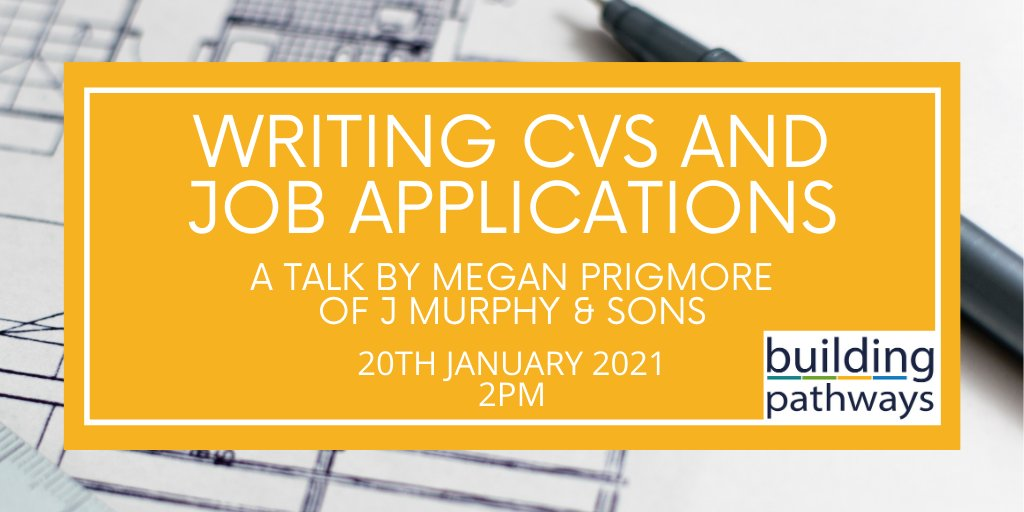 The Build Your New Future project is back with free #advice sessions for South London residents!  Join us next Wednesday for a CV and job application #masterclass by Megan of @jmurphyandsons, and make your application stand out.   Sign up: https://t.co/gJPQVeEuvR  @JCPinSthLondon