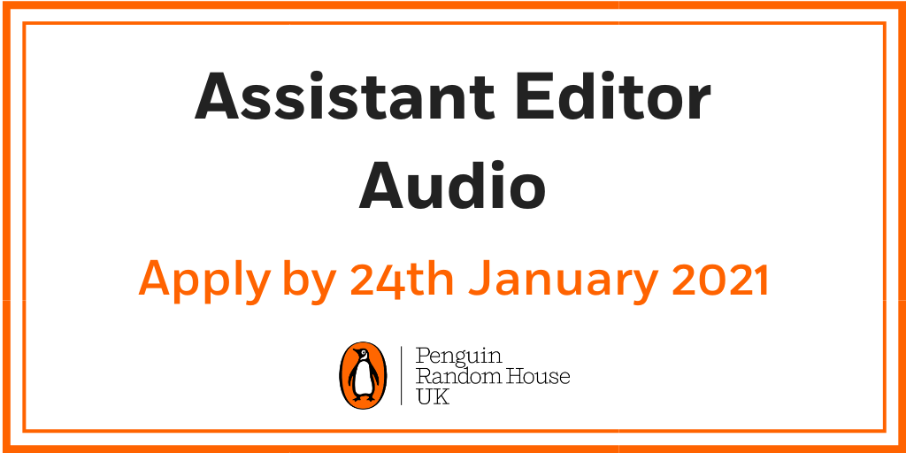🐧Are you interested in joining our Audio team and becoming their next Assistant Editor, on a 12-month FTC? 👀  If so, click here for more info:   Please address your cover letter to James and get your application in by Sunday 24th January!