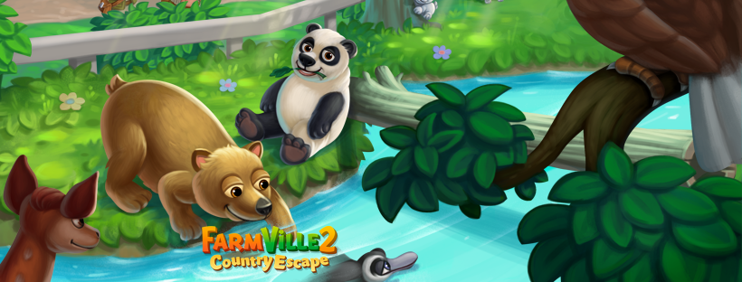 Welcome to the Wildlife Safari on @FarmVille2 CountryEscape! Guide  Play now ▶️