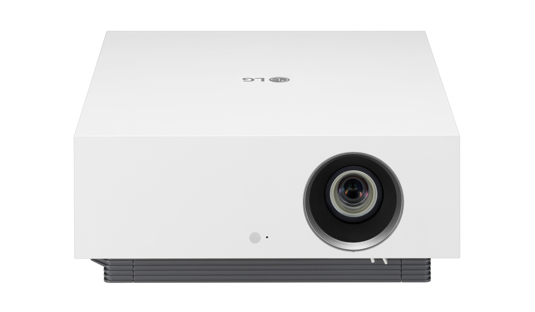 Replying to @engadget: LG's latest 4K CineBeam laser projector adjusts to your room light