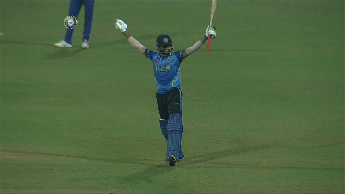 1⃣st 💯 for a Kerala batsman in T20s 🔥 2⃣nd fastest ton in #SyedMushtaqAliT20's history 👏 3⃣rd joint-fastest T20 hundred by an Indian batsman 👌  9⃣ fours, 1⃣1⃣ sixes & 1⃣3⃣7⃣* off 5⃣4⃣!  Watch Mohammed Azharuddeen's dominating hundred 🎥👇 #KERvMUM
