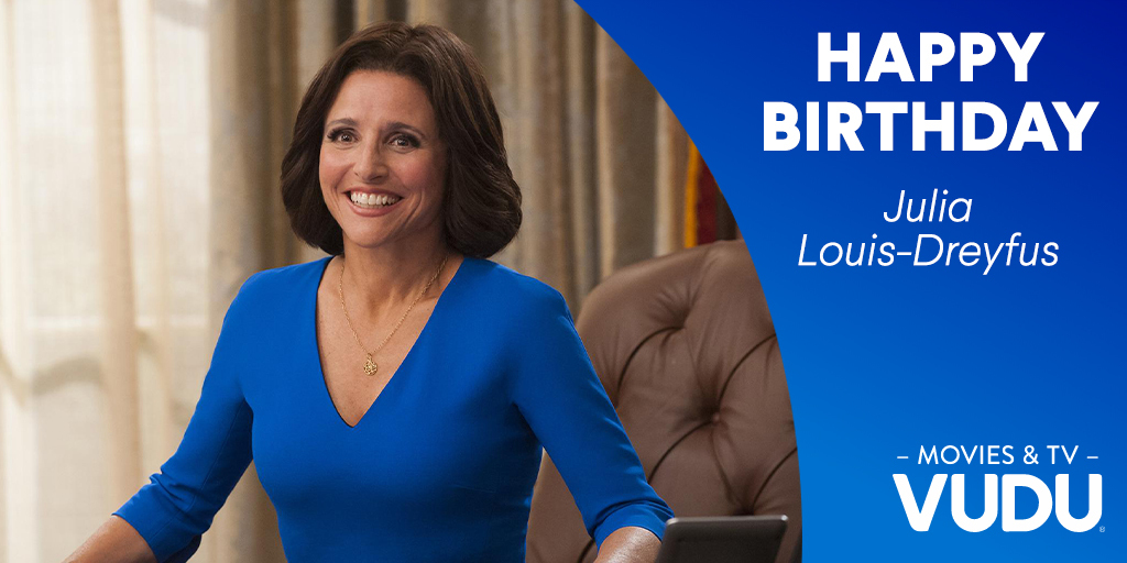 Happy Birthday to Golden Globe winner, Julia Louis-Dreyfus. Which of her iconic quotes is your favorite?