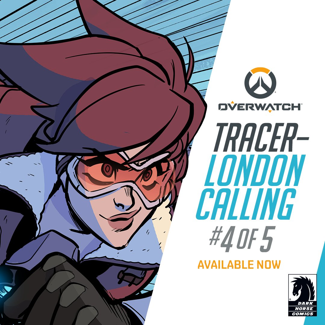 In the aftermath of Mondatta's shocking assassination, the Underworld omnics begin a violent revolution.  Jump into TRACER – LONDON CALLING issue 4, a brand-new comic from @DarkHorseComics.  📖 :