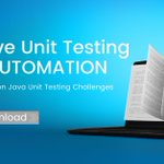 Image for the Tweet beginning: Conquer Common Unit Testing Challenges.