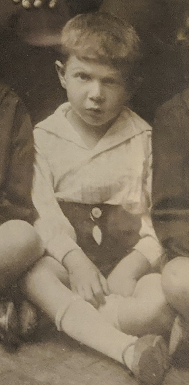This boy used forged identity documents to gain passage to a refugee ship bound for Canada and was my great uncle Ted, who passed away last year in Montreal. I was fortunate enough to be able to meet him once before he died when I went for Virus Bulletin. Thanks @martijn_grooten