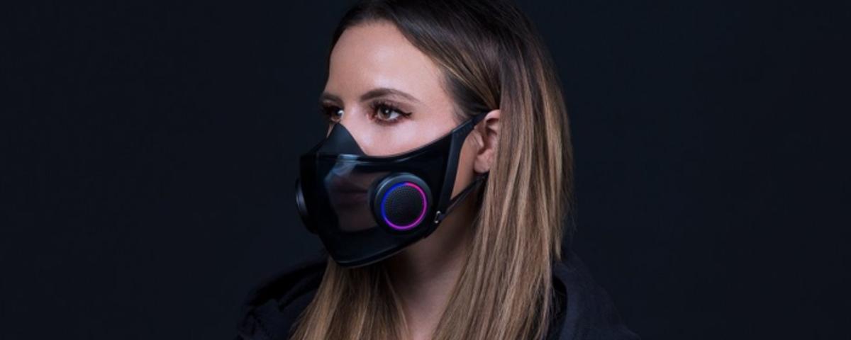 Fiz essa matéria pro @Tec_Mundo sobre o conceito de máscara inteligente da Razer !   Tirando o RGB, achei ela sensacional! Usaria uma o dia inteiro facilmente  : )  Razer apresenta máscara RGB e cadeira imersiva na CES 2021 https://t.co/q42ILzKD9L via @Tec_Mundo https://t.co/C9wi8IdPUD