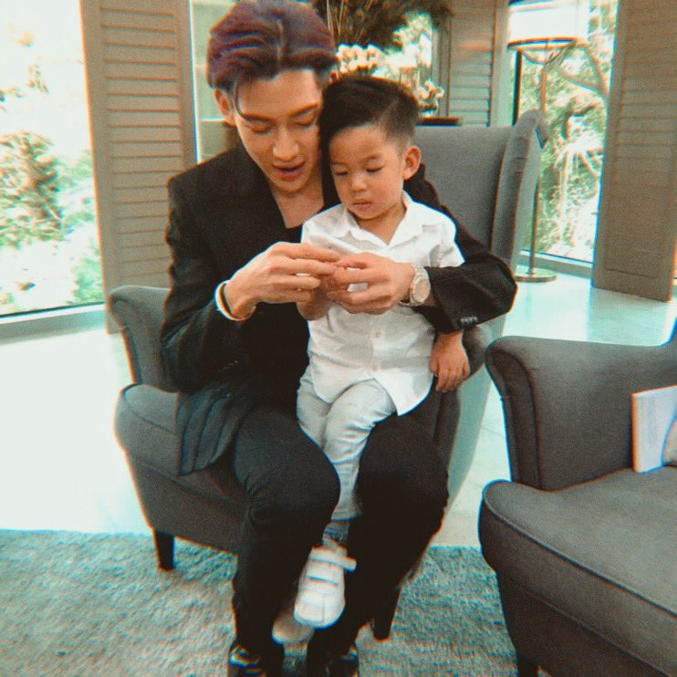 bambam with kids is the most precious thing ever