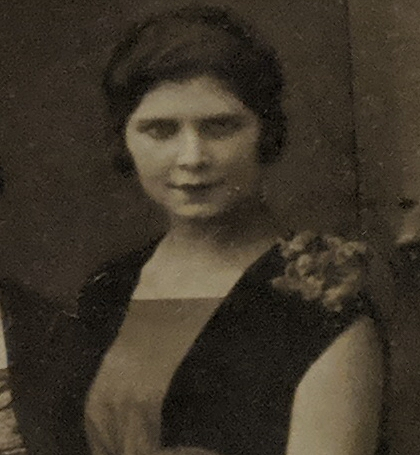This woman died at Camp Auschwitz.