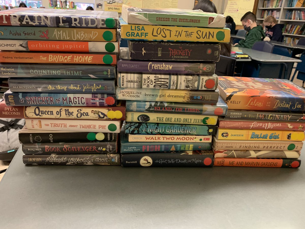 We spend so much time reading and talking about new books in class, that today we decided to highlight some non-2020 faves. Still remember these books being wildly popular with classes I had- and today they found their way into the hands of new readers. #itsworthit