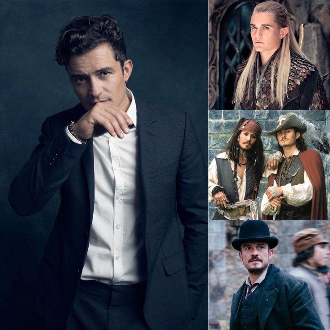 Happy birthday to English actor Orlando Bloom, born January 13, 1977.
