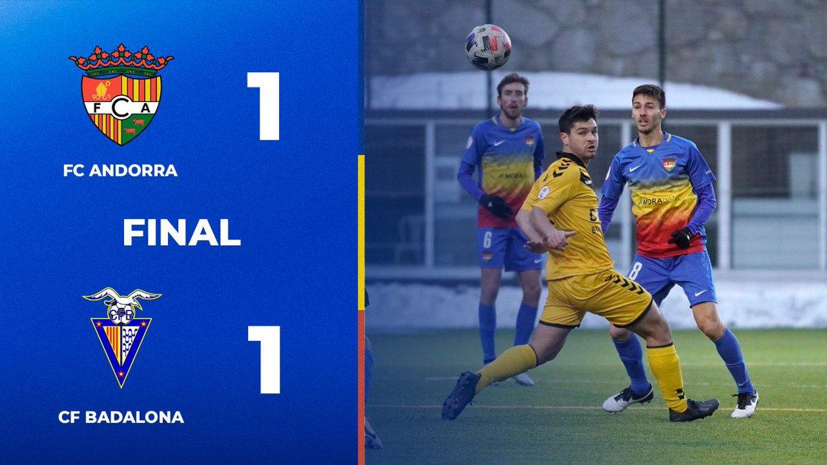 ⏱ | FINAL  #SomTricolors🔵🟡🔴 #AndorraBadalona