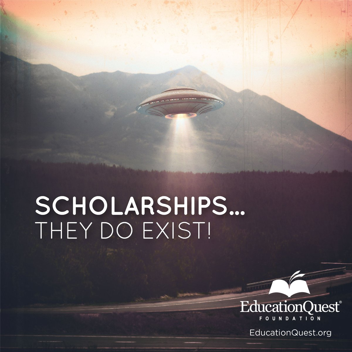 For real...scholarships are out there! 👽  Check out ScholarshipQuest and start applying today!  #college #scholarships #MoneyForCollege
