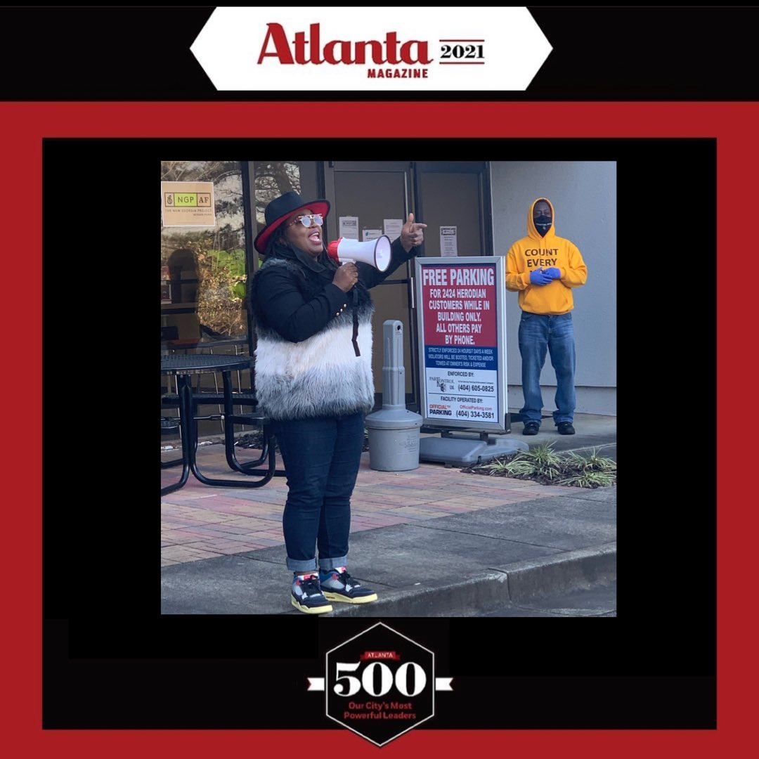"""""""Hardly home, but always reppin""""   It is truly an honor to be named one of @AtlantaMagazine's most powerful leaders in the city.  The people, the culture, the history, and the heart of Atlanta make it unlike any other place in the world."""