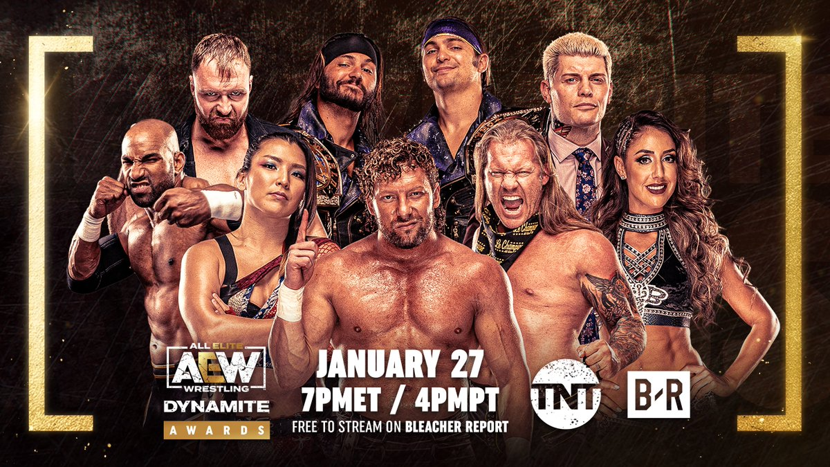 A show to celebrate the good, the bloody, and just downright outrageous moments of AEW Dynamite 💥Voting is officially open so cast your votes at: