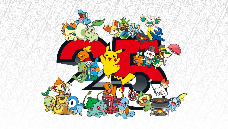 Aniversario 25 Pokémon