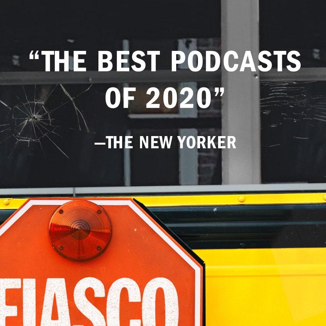 """There's not much we want to revisit from 2020, but """"Fiasco: The Battle for Boston"""" is for sure one of them. Binge what @NewYorker listed as one of the """"best podcasts"""" of last year."""