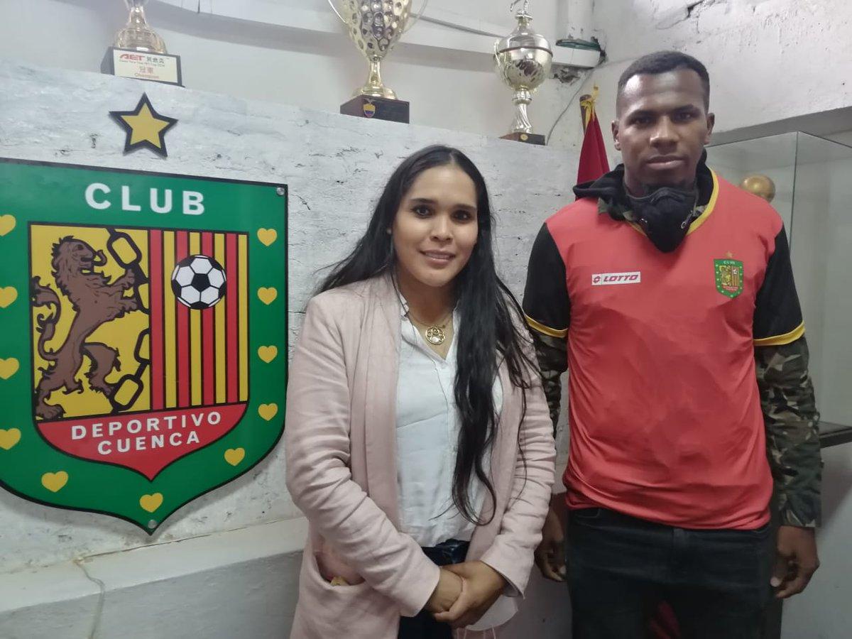 Jesi Godoy, nuevo refuerzo de Deportivo Cuenca para la temporada 2021 🔴⚫🦁  #LigaPro #DCuenca #Cuenca #morlacos #Fútbol #instagrammers