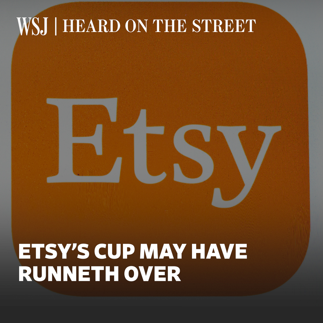 Etsy is now valued at more than half of eBay and it may continue to broaden its reach amid the pandemic. @DoubleLJSquared explains. #WSJWhatsNow