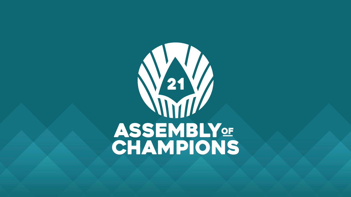 Dont forget - Voting for the 2021 Assembly of Champions is live! Each of you get 3 votes so make them count. paladins.com/aoc