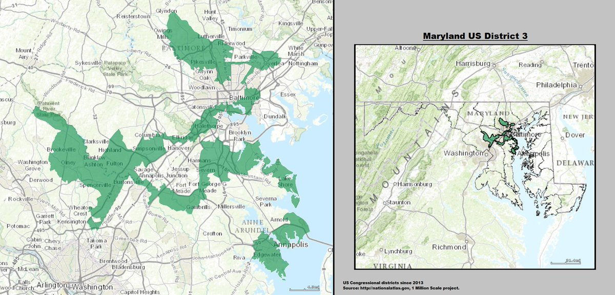 Replying to @willchamberlain: On a random note, this is my congressional district  This seems perfectly reasonable