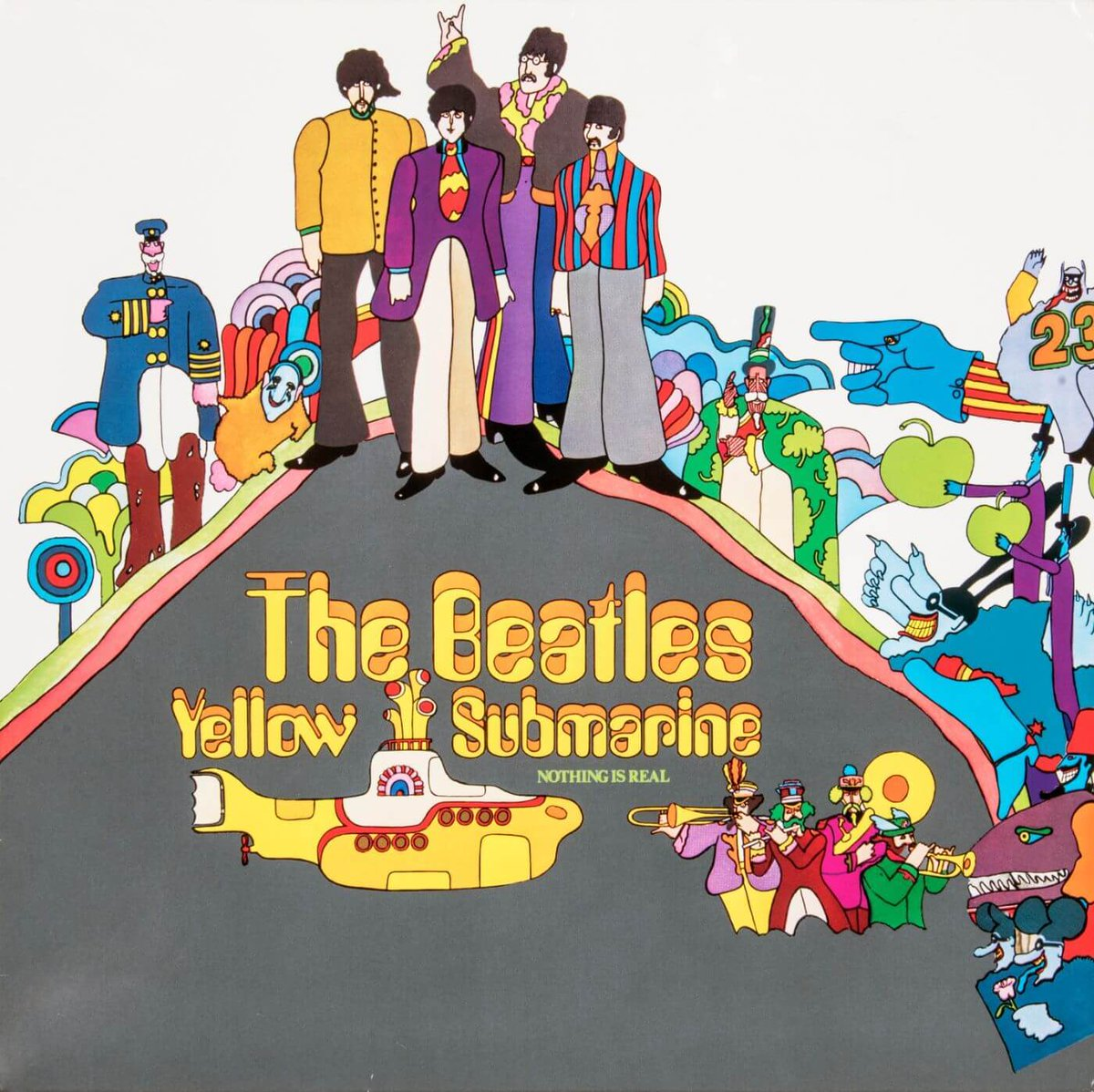 "On this day in 1969, the Beatles dropped their classic album ""Yellow Submarine."" https://t.co/DA38Nw75se"