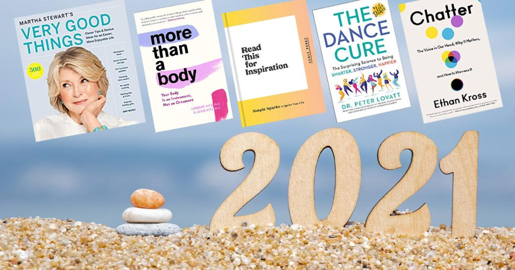 Wellness Wednesday: here are some books to make you feel good, inside and out.