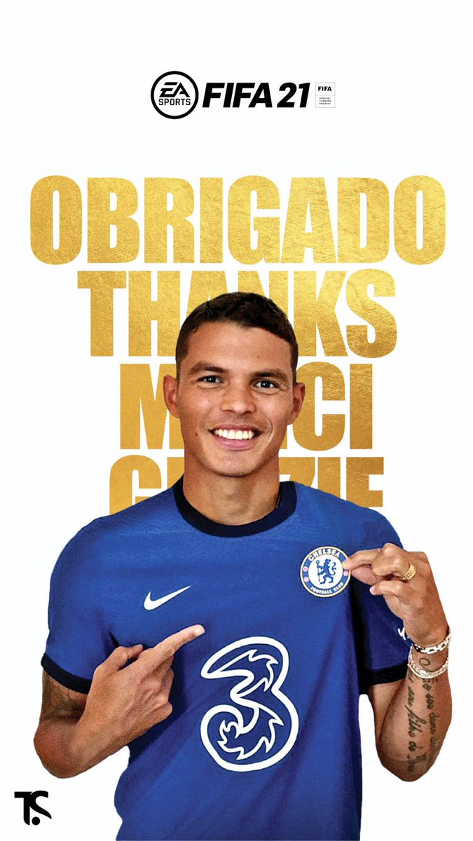 Thank you for your vote. Please, keep voting ➡️  @easportsfifa @ChelseaFC #TOTY #ThiagoSilva