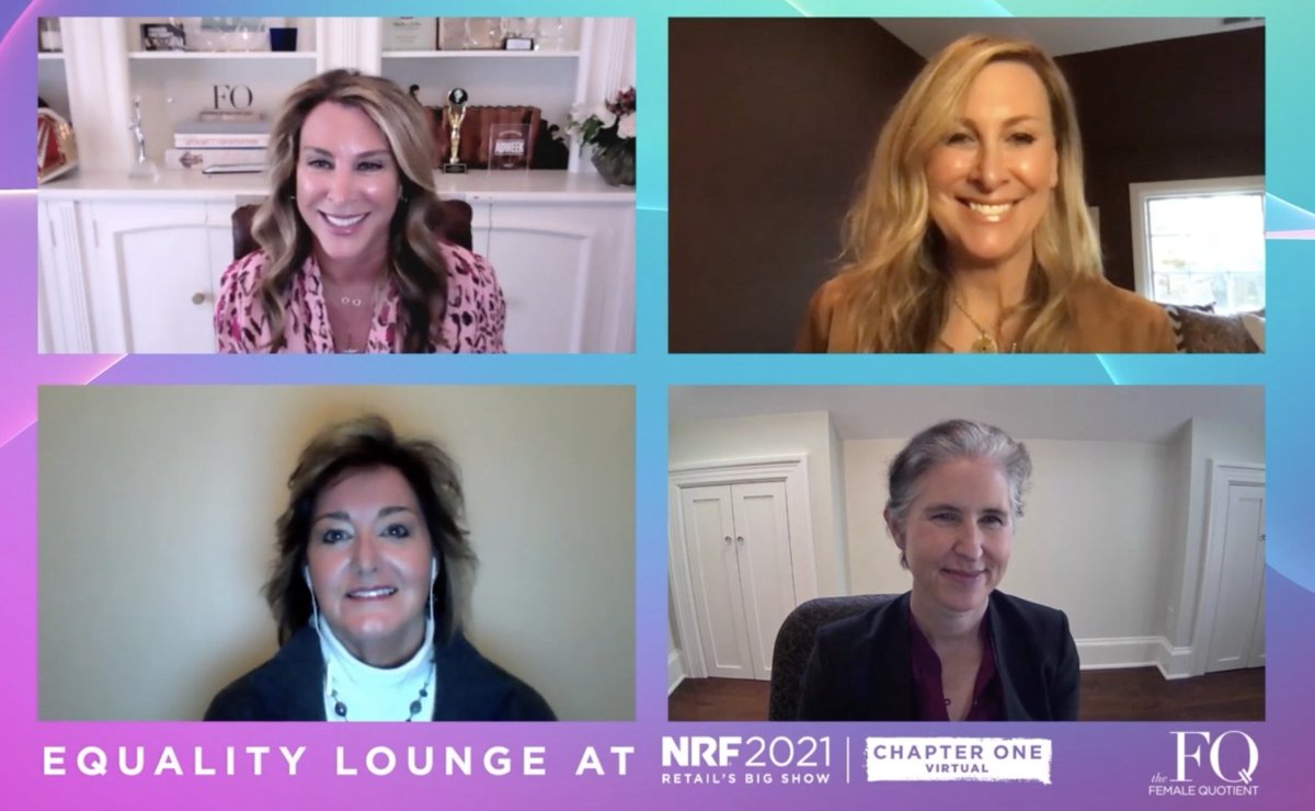 Looking for a mentor?  @weightwatchers' Gail helps find your purpose. @theboardlist's Shannon coaches in confidence to eliminate self doubt & remove chains that hold you back. @vineyardvines' Karen will ensure you are well connected to continue in your desired path.  #NRF2021