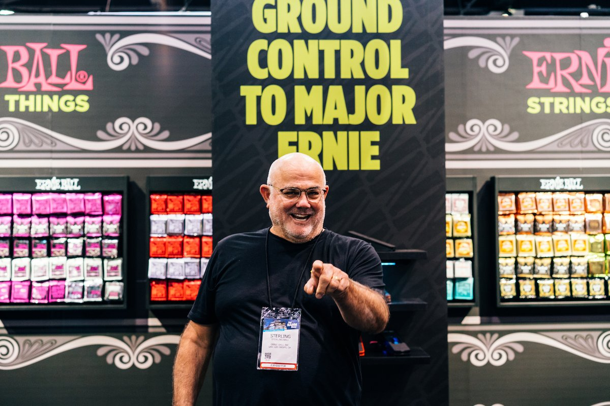 Wishing a very happy birthday to the man who helped build and shape Ernie Ball into the company that it is today. Happy bday Sterling! 🎉🎉