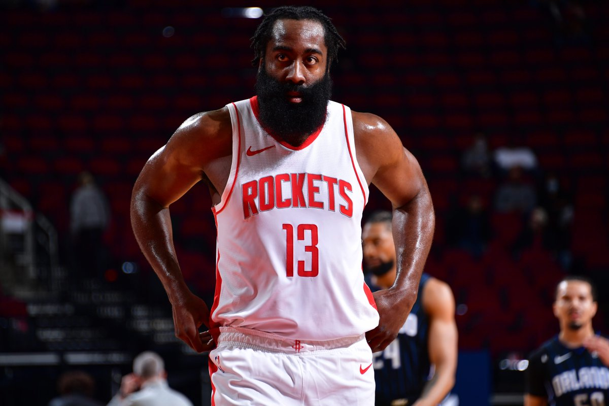 """Nets and 76ers are finalists for a James Harden deal that """"could culminate quickly,"""" per @ShamsCharania, @sam_amick  Brooklyn is preparing an offer of four first-round picks and three pick swaps"""