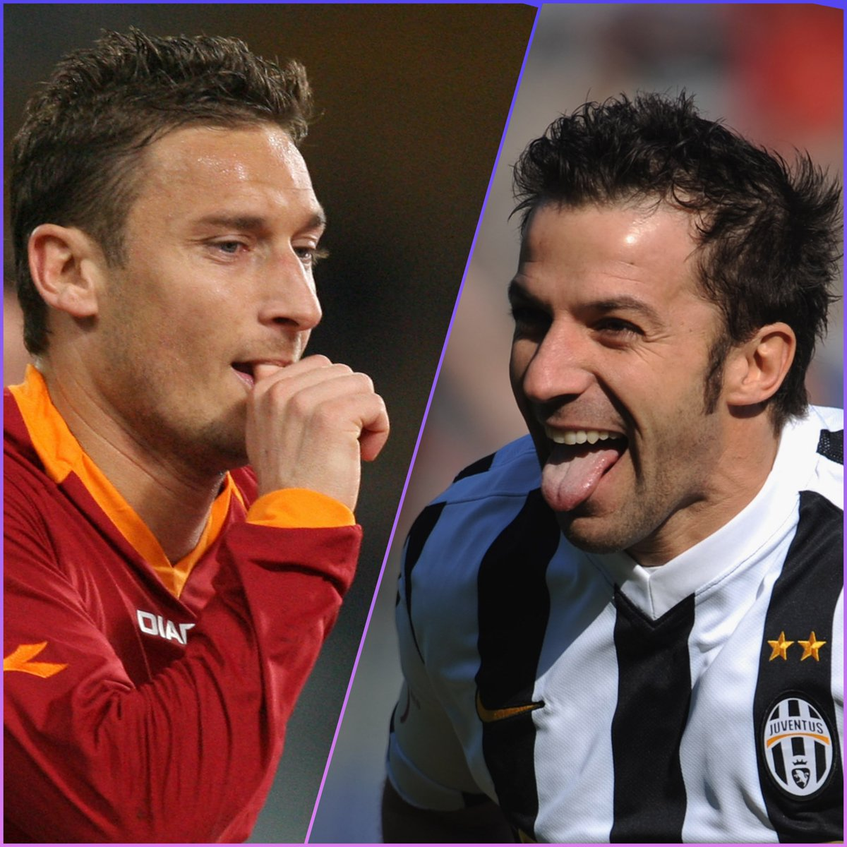🇮🇹  Francesco Totti OR Alessandro Del Piero?  #UCL   #TBT