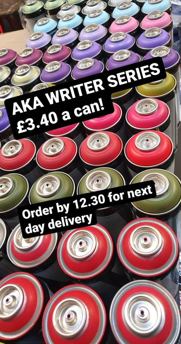 Aka Writer Series sprays..one of the many brands on sale on our website  https://t.co/4DHSkRLZsy https://t.co/5d1bU1DoNg