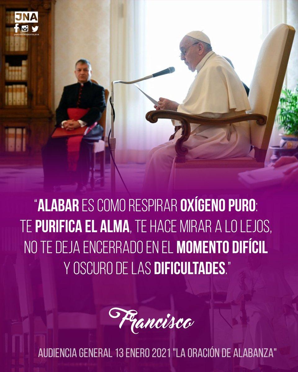 """Resumen Audiencia General 13 Enero 2021 """"La oración de alabanza"""" #PapaFrancisco #AudienciaGeneral  Texto Completo:"""