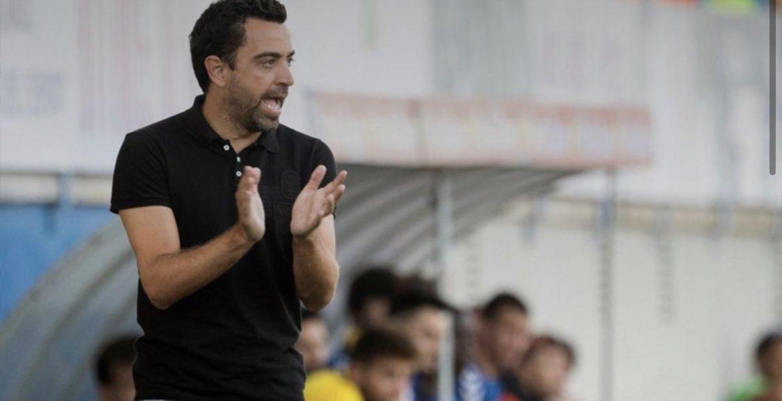 Xavi Hernández planea volver al Barça si gana Víctor Font o si Laporta le llama. Pero esto, según el medio, no será hasta el mes de abril. Es en abril cuando la Liga de Qatar termine. El entrenador tiene cerca el título y quiere culminar su temporada. @FCBarcelona #Xavi #Barca