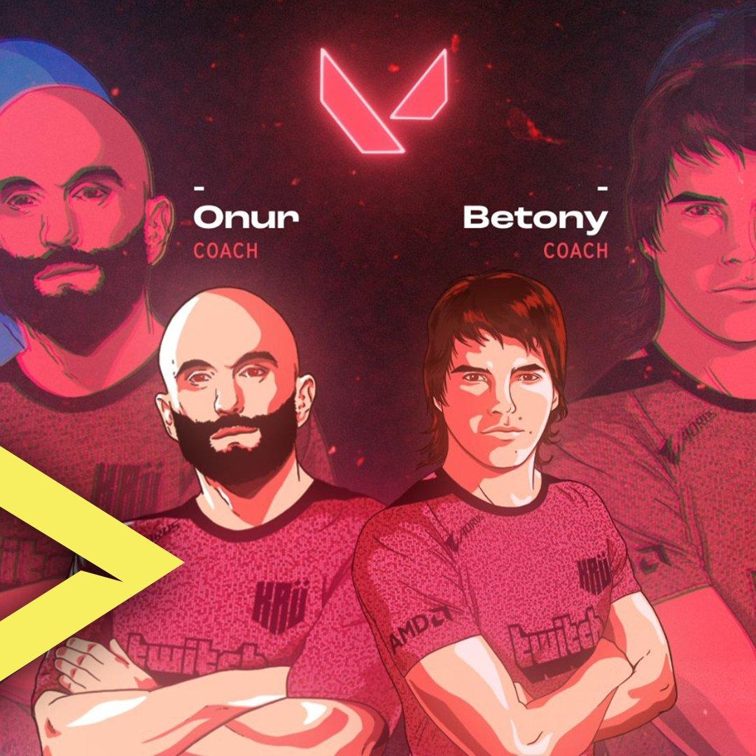 NUEVO EQUIPO  @KRUesports ha presentado a su equipo de Valorant! A la cabeza de este, estarán @onurthegreat y @MBetony como los coaches de las escuadra.  #valorant #VamosAJugar #gameplay