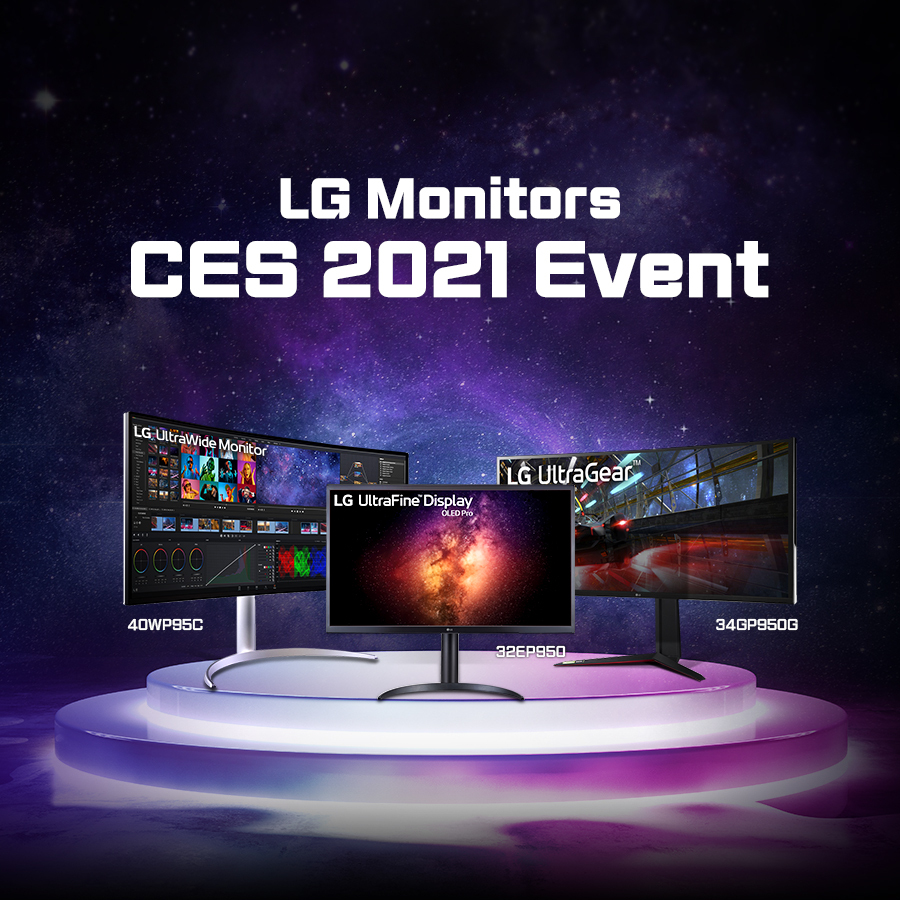 Click the link and check out the LG CES Event! If you take a look at the amazing LG CES Virtual Showroom, you may win a monitor!  #LGCES2021 #LGVirtualShowroom #LGPartner