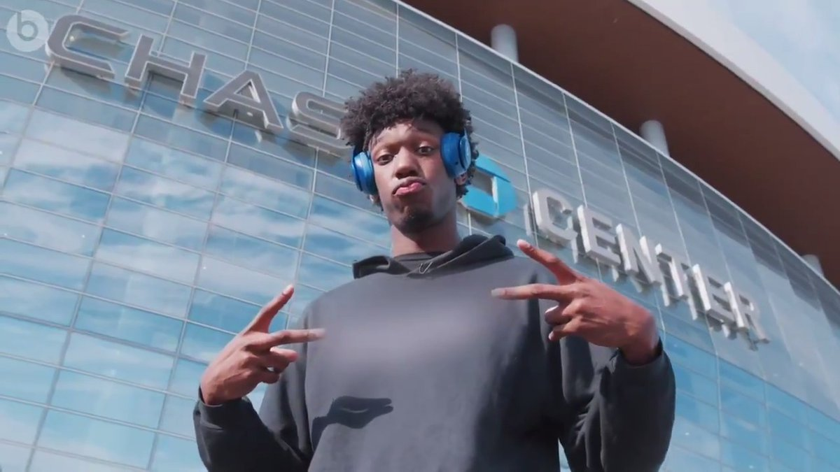 .@BigTicket_JW is learning that the Bay moves to its own beat  Join us for a sit-down with James during his first trip from SFO to @ChaseCenter, and tune in to the playlist that welcomed him on that ride  Now Playing in the Bay, presented by @beatsbydre »
