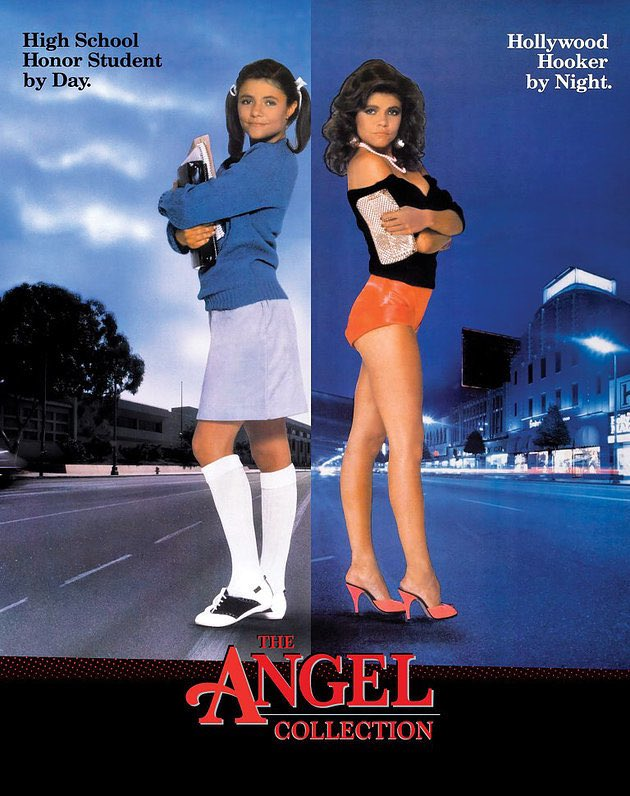 Time for @SecretHandPod's first giveaway. We've got a copy of @VinegarSyndrome's OOP Blu box of the ANGEL trilogy up for grabs. Like violent, grimy revenge flicks? How about THREE violent, grimy revenge flicks? Follow us here and RT for a chance. Winner will be chosen Saturday! https://t.co/9igwbrCo7V