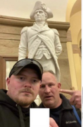 NEWS: Federal authorities have charged 2 police officers from the Rocky Mount Virginia Police Department, according to the dept, which says the officers have been charged with misdemeanors stemming from their presence at the Capitol attack. The officers are on leave from the dept