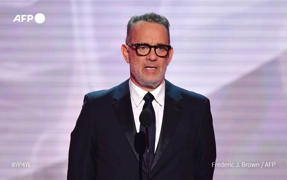 Tom Hanks presentará el programa especial de TV por la investidura de Joe Biden #AFP