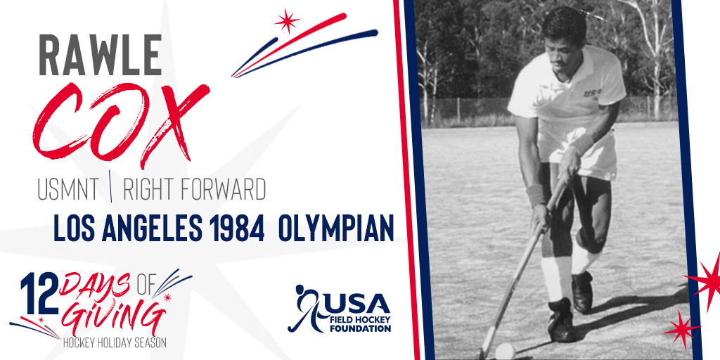 🇺🇸 RT | USA Field Hockey | Friendly and outgoing, Rawle was a true team player. A competitor and hard worker, he was known for his speed, as he blew by overmatched defenders.🏅  Consider donating to the #12DaysofGiving Hockey Holiday Season today: …