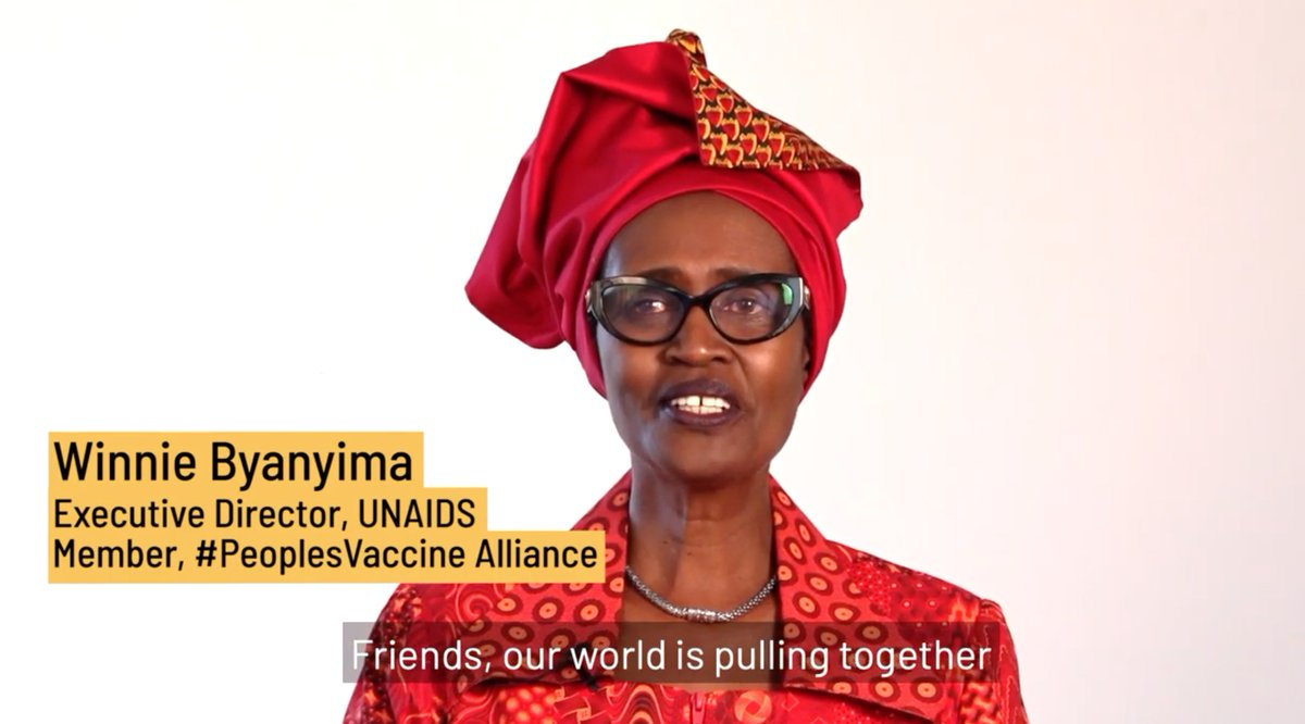 A9. The #PeoplesVaccine campaign gives me hope. People around the world are coming together to ask their governments to act responsibly and in all of our interests by making vaccine technology open to all.   #AskReuters  @Winnie_Byanyima  https://t.co/n8jcu55UoA https://t.co/GcBXEclpvt https://t.co/YvLZ4t3cFx