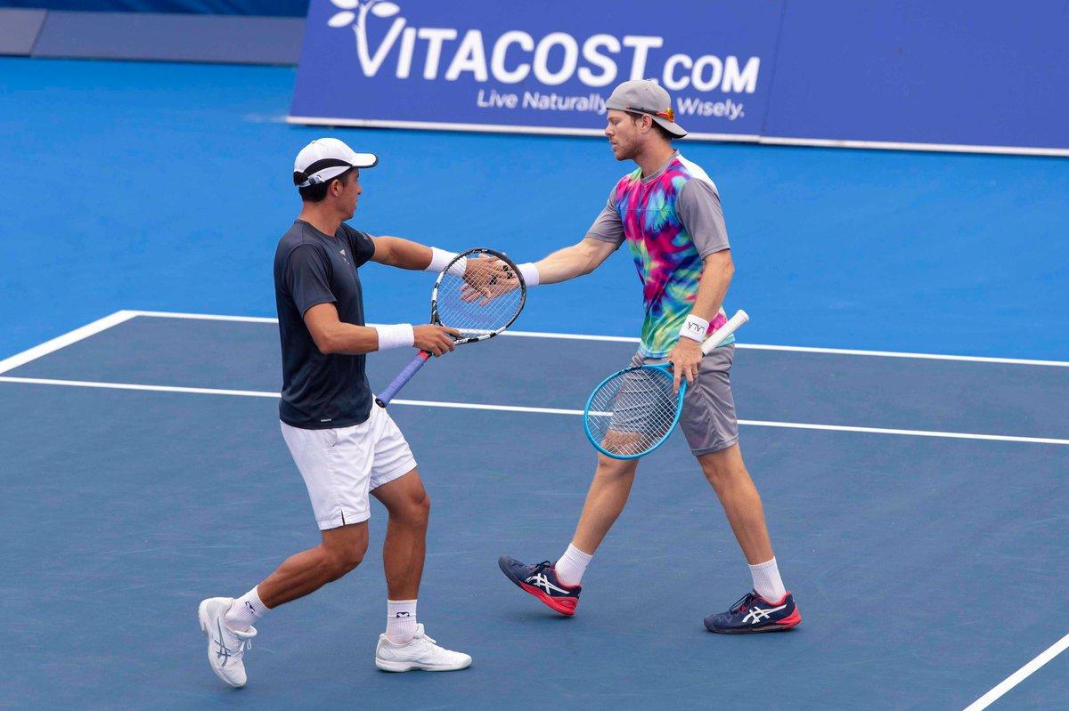Gonzalo Escobar y Ariel Behar son los campeones en dobles del ATP 250 de Delray Beach ► https://t.co/v6Gtx1xuWH https://t.co/sP7UAxg6zp