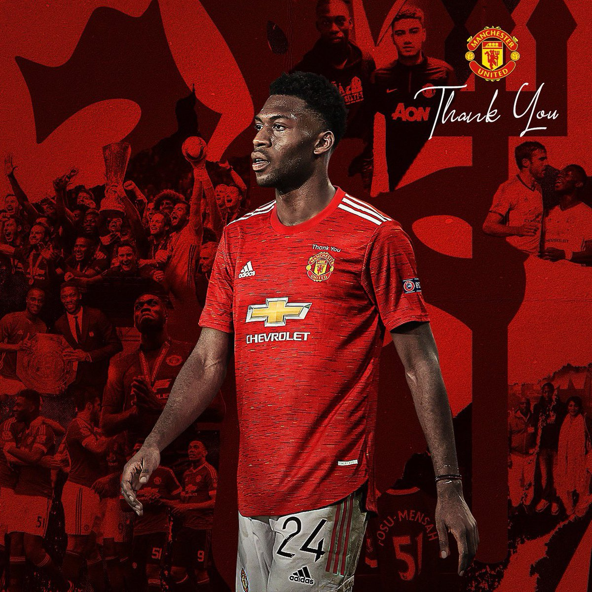 Forever in my heart.. the staff, the players, the fans! Thankyou for everything ❤️@ManUtd 🔴🔴🔴 #mufc #ggmu