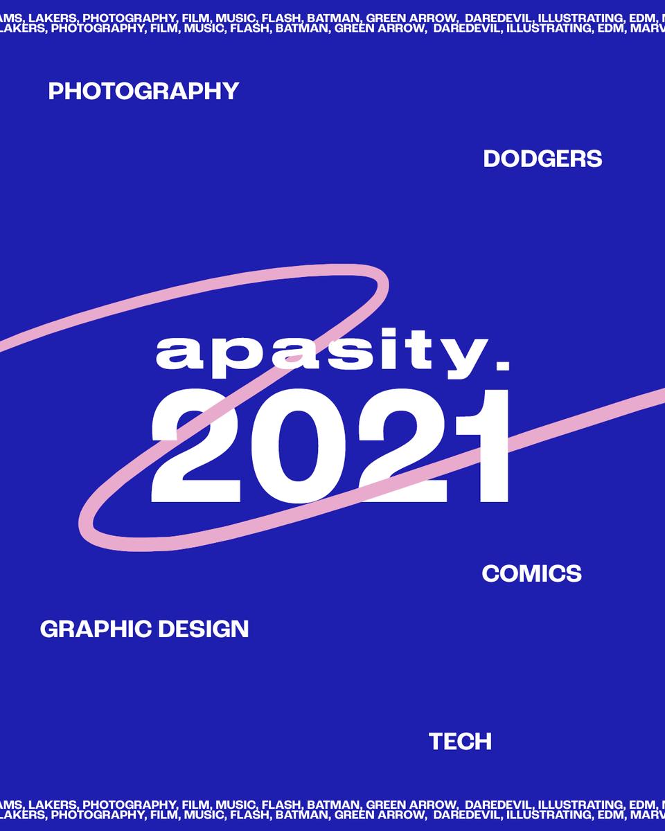 2021. A new year. A fresh start.   #graphicdesign #Dodgers #comics #tech